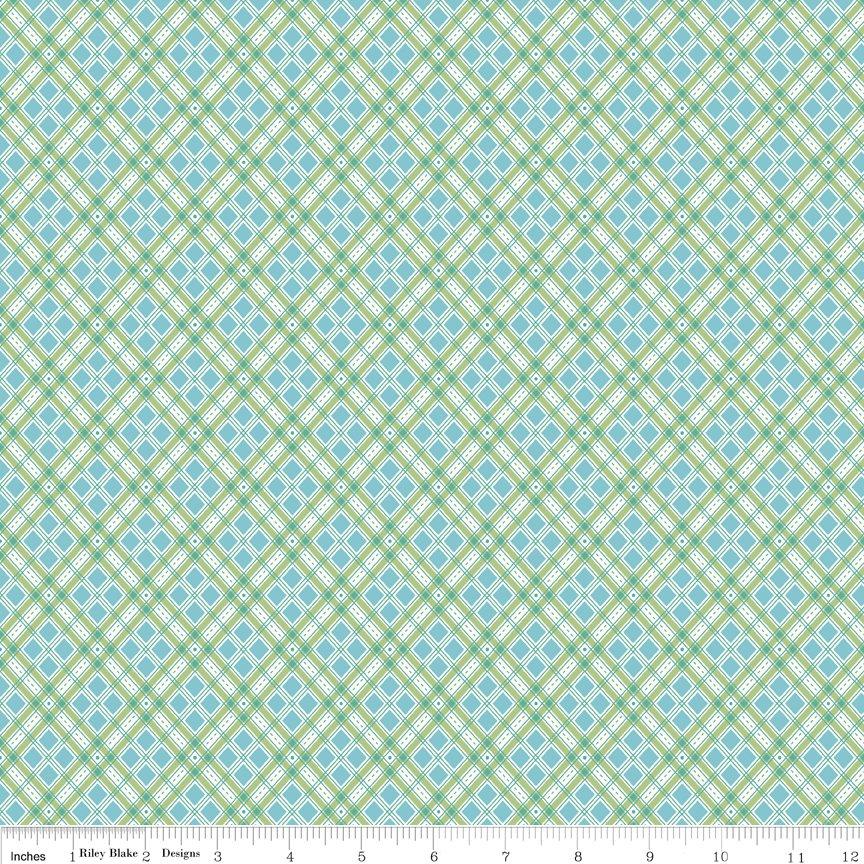 Autumn Love by Lorie Holt Riley Blake Designs C7364 BLUE