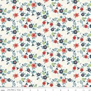 Hedge Rose from Penny Rose Fabrics C7901 CREAM