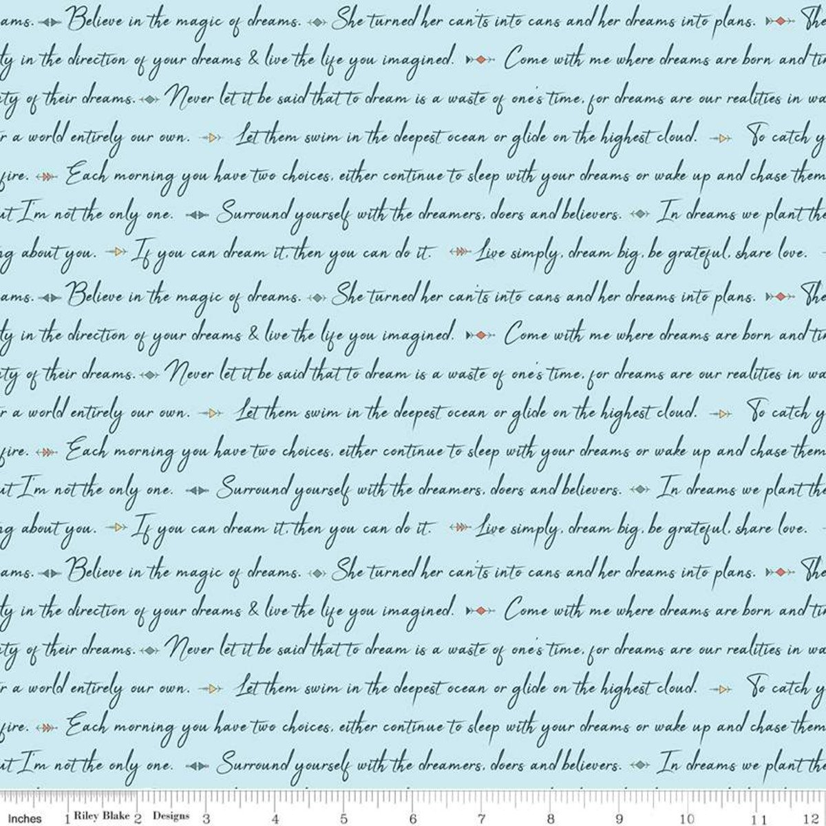 Dream Weaver by Riley Blake Fabrics C9052 BLUE