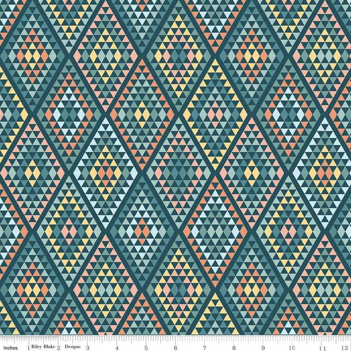Dream Weaver by Riley Blake Fabrics C9054 TEAL