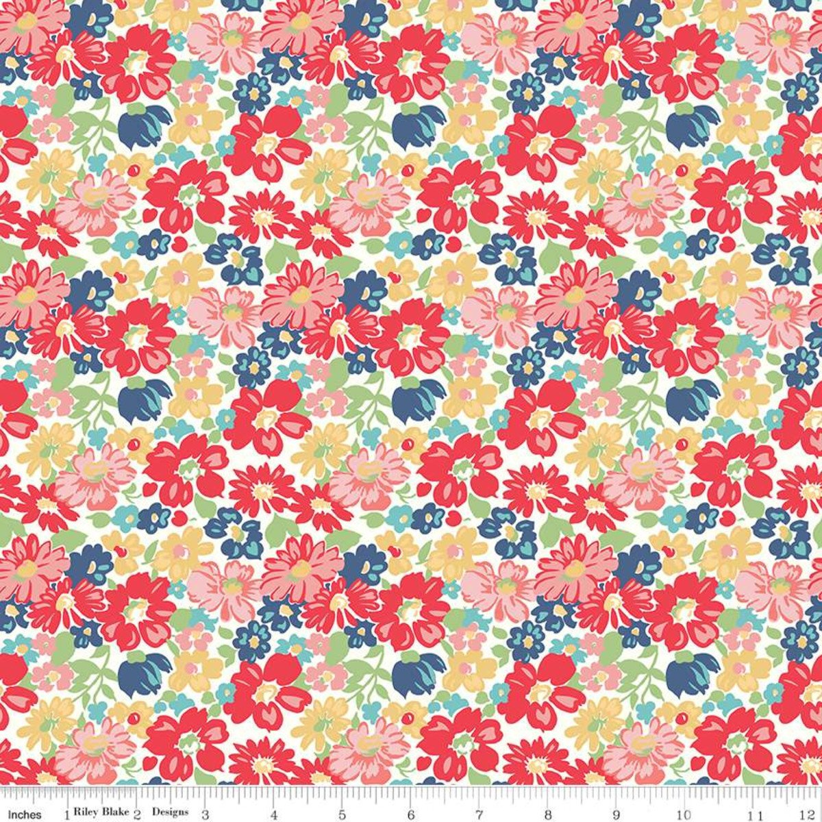 Vintage Happy 2 by Lori Holt for Riley Blake C9130-RED