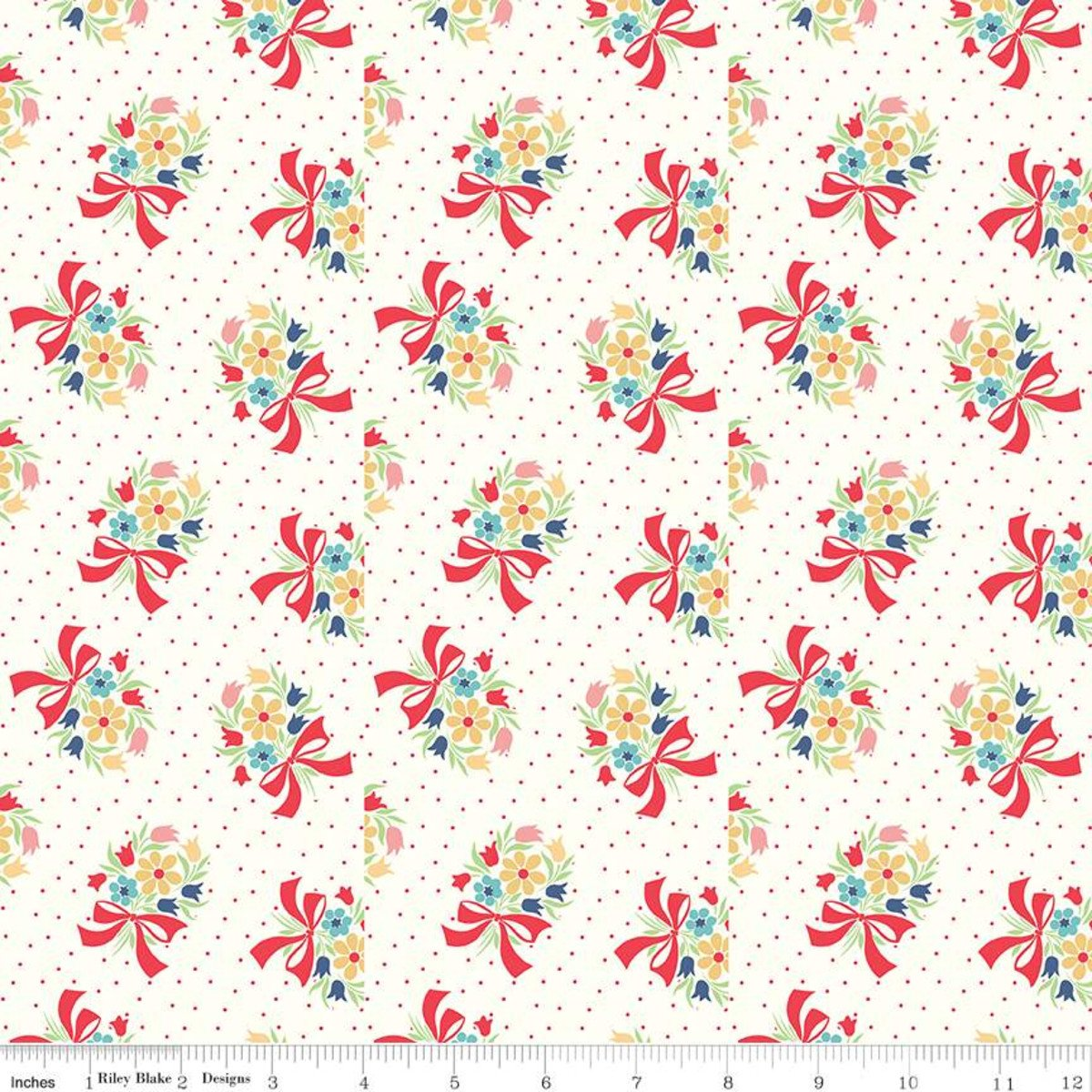 Vintage Happy 2 by Lori Holt for Riley Blake C9135-CLOUD
