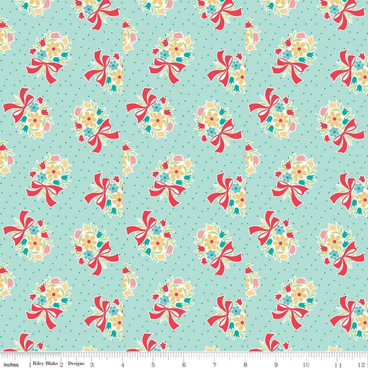 Vintage Happy 2 by Lori Holt for Riley Blake C9135-SONGBIRD