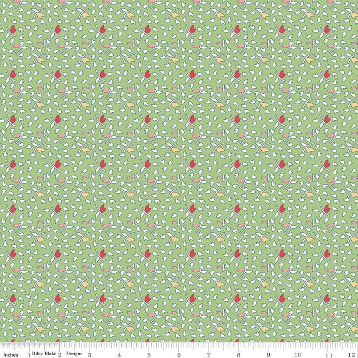 Vintage Happy 2 by Lori Holt for Riley Blake C9141-GREEN