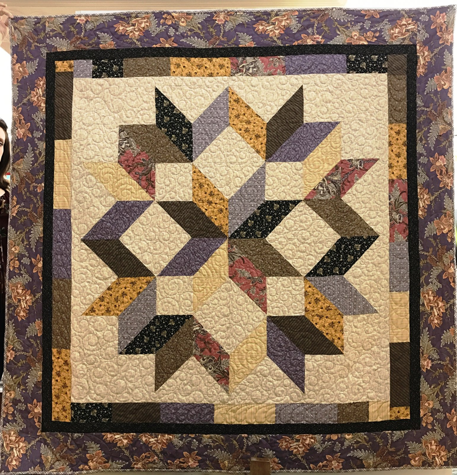Carpenter Star Pattern Included 70 X 70