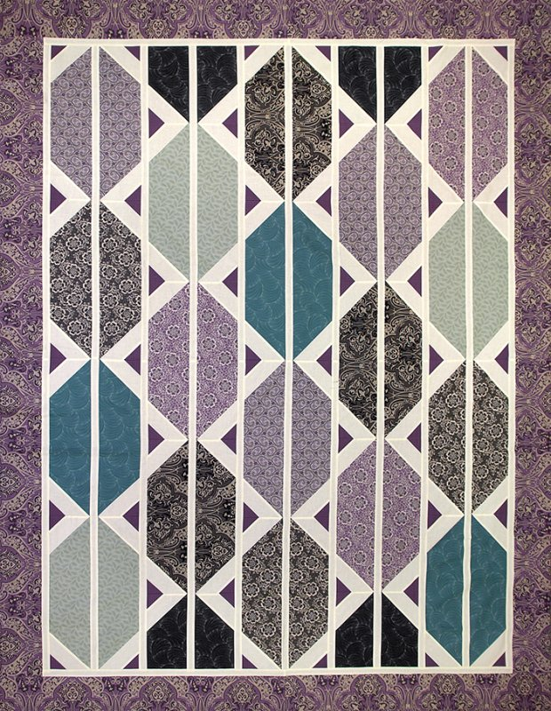 Downton Abbey Series Counterpoint Quilt Kit