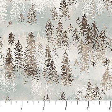 Misty Mountain Flannel by Northcott Fabrics F22979-61