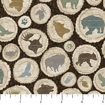 Outdoor Adventure Flannel by Northcott Fabrics 3188-36