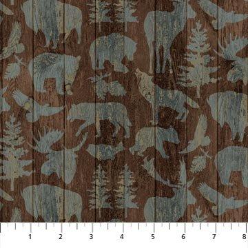 Outdoor Adventure Flannel by Northcott Fabrics 3191-36