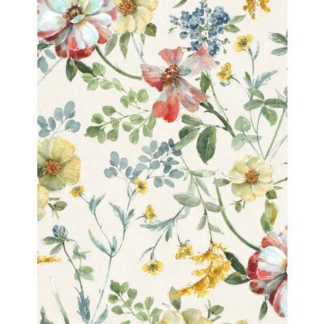Sketchbook Garden by Wilmington Prints 86452-137