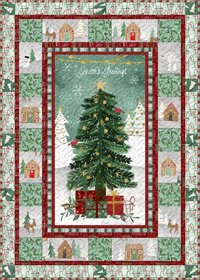 Frosted Holiday Quilt Kit