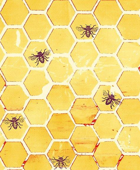 Pollinator by RJR Fabrics LT303-YE2