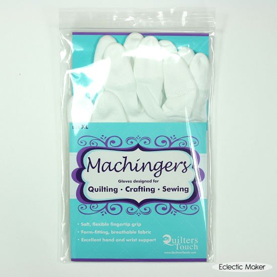 Quilters Touch Machingers Gloves Size XL 100814