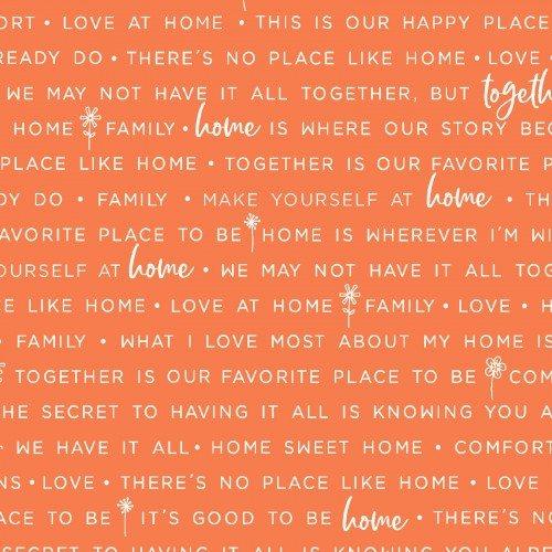 Make Yourself at Home by Maywood Studio MAS9395-O