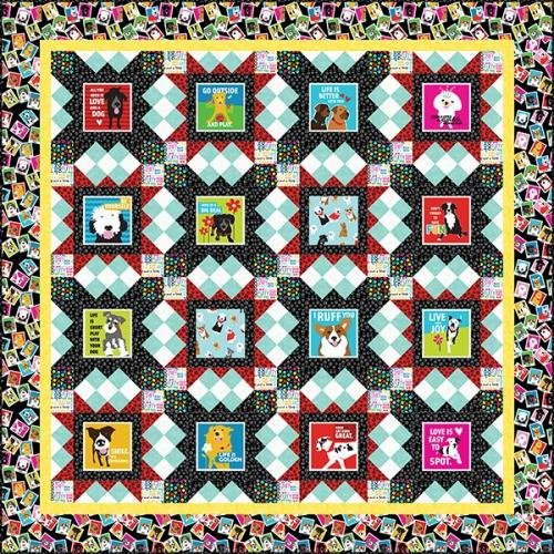 Must Love Dogs Quilt Kit