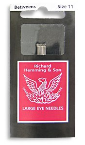 Richard Hemming & Son Large Eye Needles Size 11