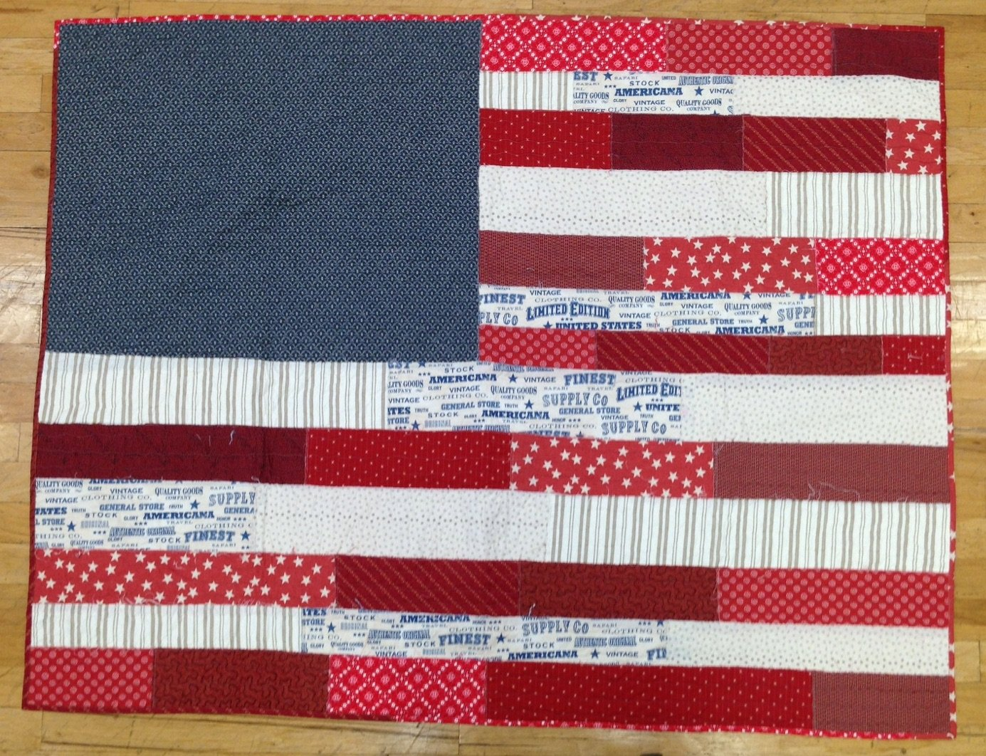Old Glory Quilt Kit : old glory quilt - Adamdwight.com