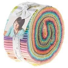Ombre Confetti Jelly Roll by Moda Fabrics