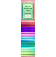 Ombre Washart Cool Essentials Gems by Wilmington Prints 24- 2 1/2 X 44 Strips