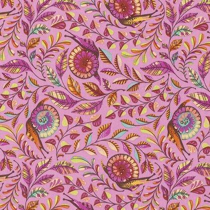 Slow & Steady Yardage Fabric by Tula Pink for Free Spirit Fabrics PWTP086.ORANG
