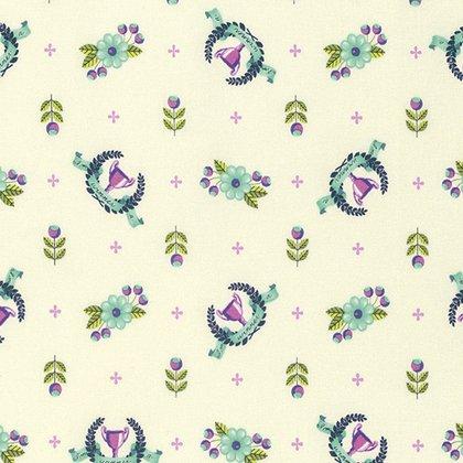 Slow & Steady Yardage Fabric by Tula Pink for Free Spirit Fabrics PWTP089.BLUER
