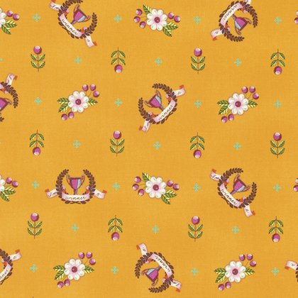 Slow & Steady Yardage Fabric by Tula Pink for Free Spirit Fabrics PWTP089.ORANG