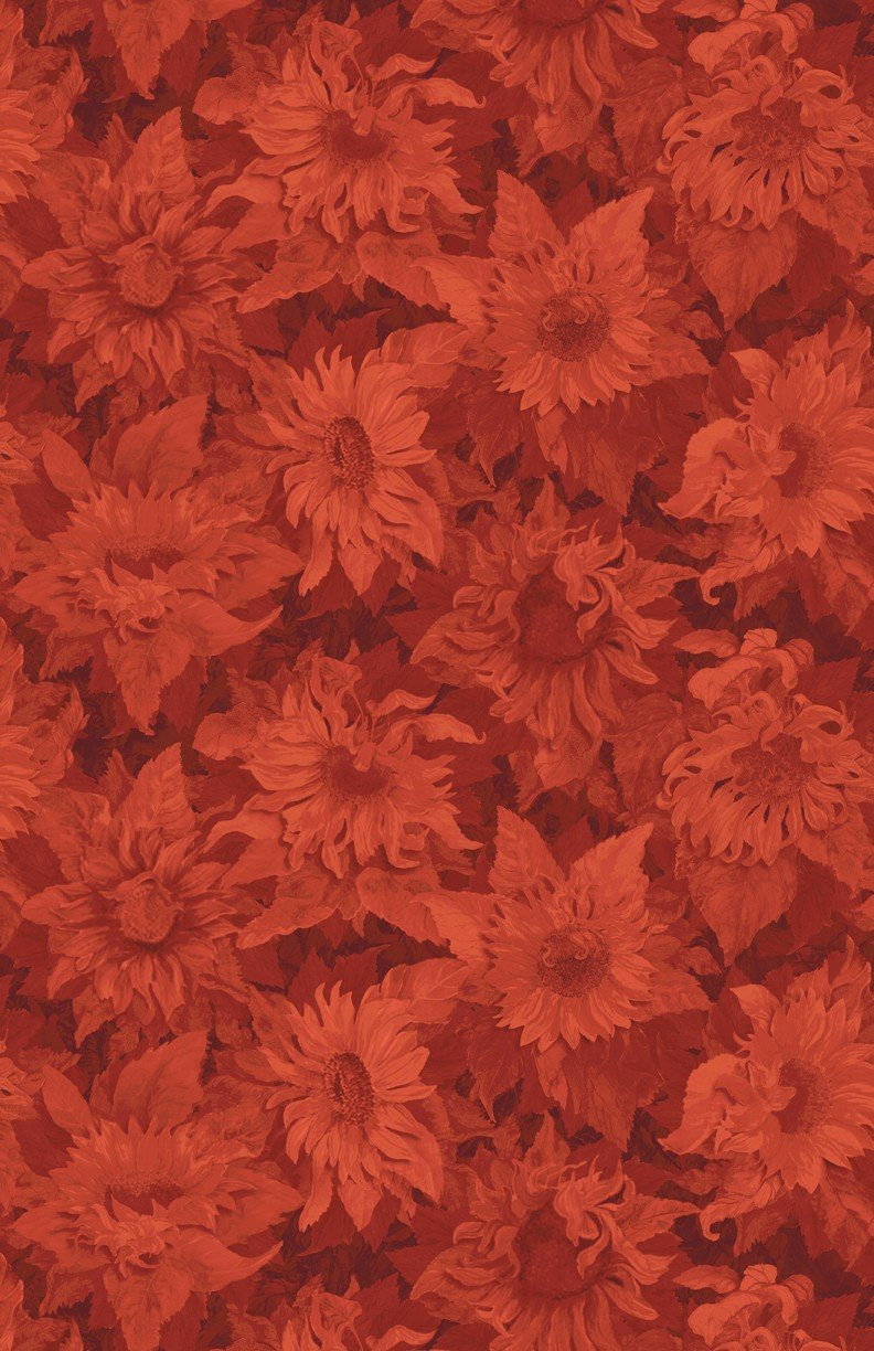 Flowers of the Sun Yardage Fabric by Joanne Porter for Wilmington Prints 79263 889