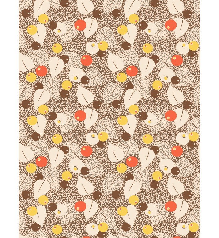 Fall Frolic Yardage Fabric by Kaye England for Wilmington Prints 98565 125