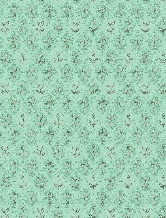 Village Garden Yardage Fabric by Kaye England for Wilmington Prints 98592 - 449