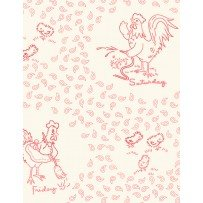 Chicken Scratch by Kaye England for Wilmington Prints 98623-133