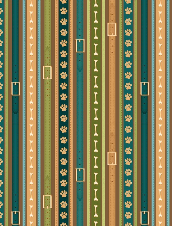 it 39 s a dog 39 s life yardage fabric by jennifer pugh for wilmington prints 82445 274. Black Bedroom Furniture Sets. Home Design Ideas