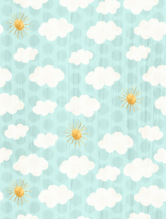 On The Road Again Yardage Fabric by Kate Doucette for Wilmington Prints 54506 - 415