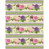 Flower Show by Anne Rowan for Wilmington Prints 68420-173