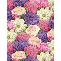 Flower Show by Anne Rowan for Wilmington Prints 68422-361