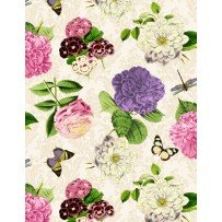 Flower Show by Anne Rowan for Wilmington Prints 68423-163