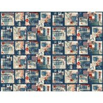 Land of Liberty by Wilmington Prints 24037-423