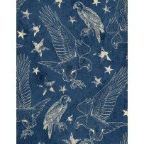 Land of Liberty by Wilmington Prints 24038-424
