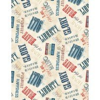 Land of Liberty by Wilmington Prints 24040-243