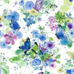 Bloom Bloom Butterfly by RJR Fabrics 1200 IR2