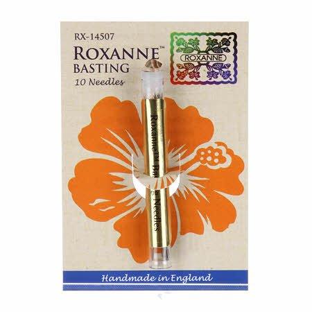 Roxanne Basting 10 Needles 121714