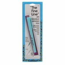 The Fine Line Air Erasable Marking Pen Purple Ink