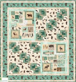 At The Lodge Flannel Quilt Kit