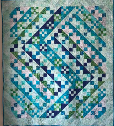 Batik Showers Quilt Kit