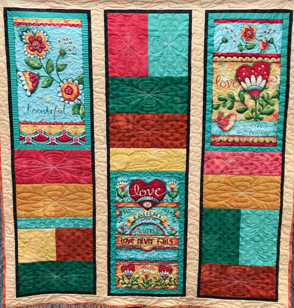 LOVE GROWS HERE QUILT KIT