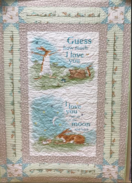 Guess How Much I Love you Quilt