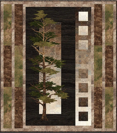 Mighty Pines Quilt Kit