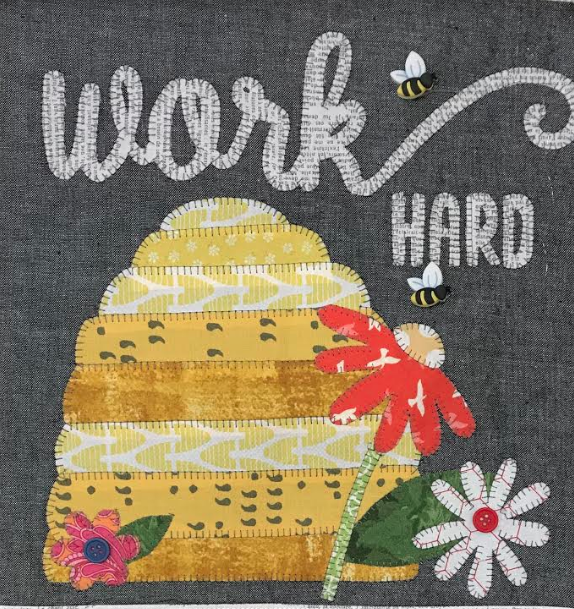 HOME GROWN - WORK HARD BLOCK