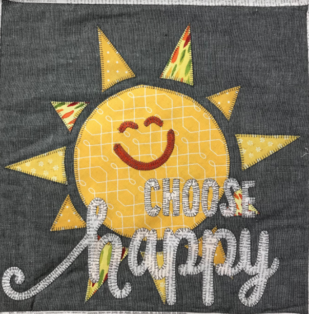 HOME GROWN - CHOOSE HAPPY BLOCK