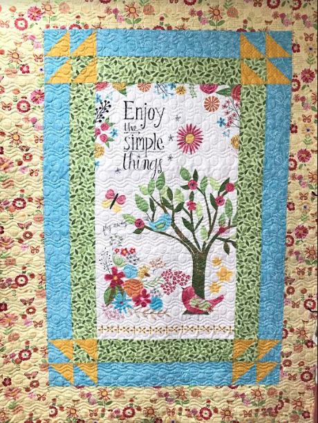 Simple things quilt kit