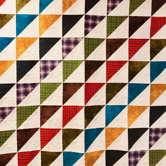 COZY TRIANGLE QUILT KIT